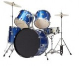Bridgecraft Huntington 5 PC Blue Drum Kit (DRM522-BU)