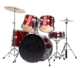 Bridgecraft Huntington 5 PC Red Drum Kit (DRM522-RD)