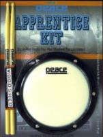 Peace Apprentice Kit - Tuneable Practice Pad with 5A Drum Sticks (Peace AK)