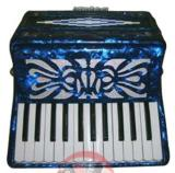 Rossetti 12 Bass 25 Key Piano Accordion - Single Color (ROS 2512)