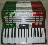 Rossetti 32 Bass 3 Switch 30 Key Piano Accordion - Tri Color (ROS 3032V)