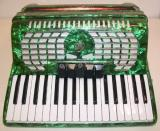 Rossetti 3460 60 Bass 34 Key 5 Switch Piano Accordion - Single Color (ROS 3460)
