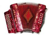 Rossetti 3112 12 Bass Button Accordion (Single Color) (RO 3112)