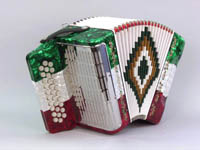 SofiaMari 31 Button 12 Bass TRI-COLORS Accordion (SM-3112)
