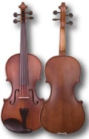 "SofiaMari 310E Viola 2 Piece Maple Back, Ebony Fittings 13"", 14"", 15"", 15.5"", and 16"" (310E)"