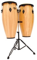 "LP CP Wood Combo Set With Stand 9"" & 10"" Congas (CP636-AWB)"